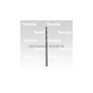 Сверло по металлу Makita D-09721 (HSS, 5х52х86мм,1шт,хв-цилиндр)