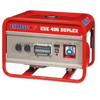 Генератор бензиновый ENDRESS ESE 406 SG-GT ES Duplex (113153)