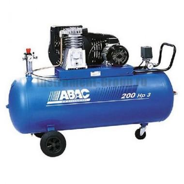 Масляный двухступенчатый ременной компрессор ABAC B 5900B/200 CT5.5