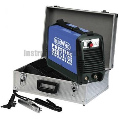Сварочный инвертор BlueWeld Prestige 228 CE/GE в алюминиевом кейсе