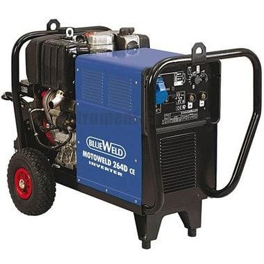 Инверторный сварочный генератор BlueWeld Motoweld 264 D/CE