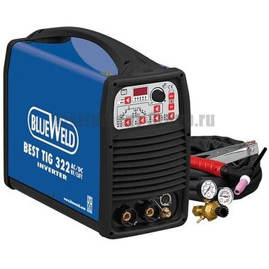 Сварочный инвертор BlueWeld BEST TIG 322 AC/DC HF/Lift + аксессуары 802607
