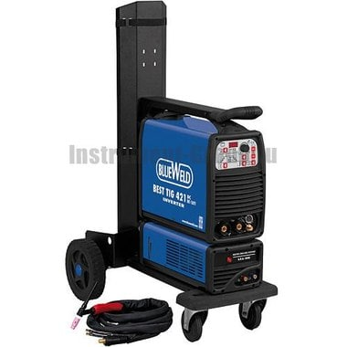 Сварочный инвертор BlueWeld BEST TIG 421 DC HF/Lift R.A. + аксессуары 802637 + блок охлаждения 80272