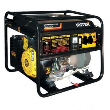 Генератор бензиновый Huter DY6500LX-электростартер + пульт
