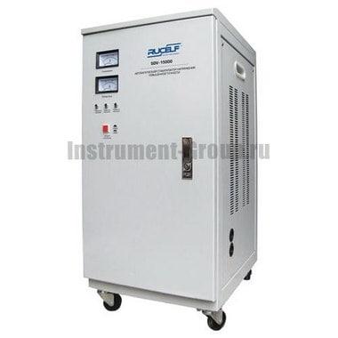 Стабилизатор напряжения однофазный электромеханический Rucelf SDV-15000