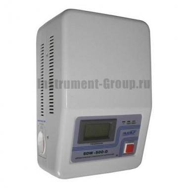 Стабилизатор напряжения однофазный электромеханический Rucelf SDW-500-D (настенный)