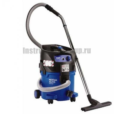 Промышленный пылесос для работы с вредными и опасными веществами Nilfisk-ALTO ATTIX 30-0H PC Nilfisk