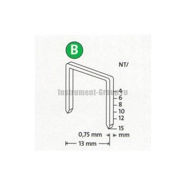 Скобы тонкие супертвердые Novus 042-0365 (NT/12S; 800 шт.)