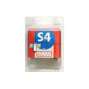 Стальная заклепка S4х10мм (20 шт.) Novus 045-0036