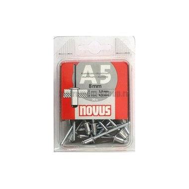 Алюминиевая заклепка А5х8мм (30 шт.) Novus 045-0026